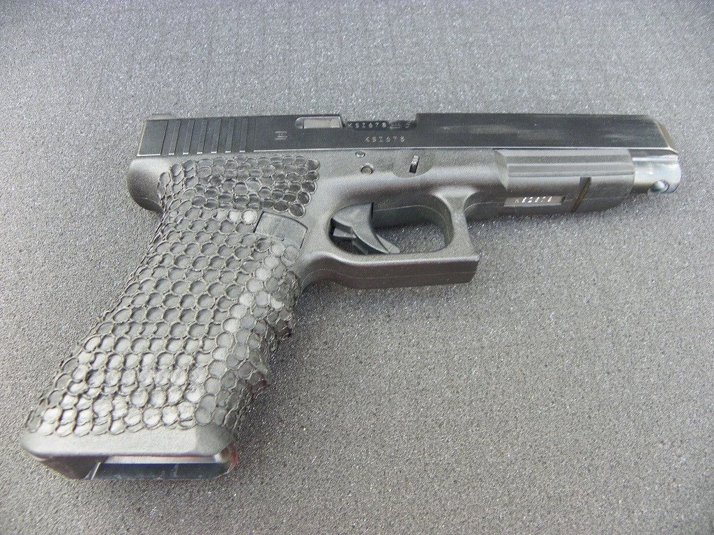 poor stippling on glock
