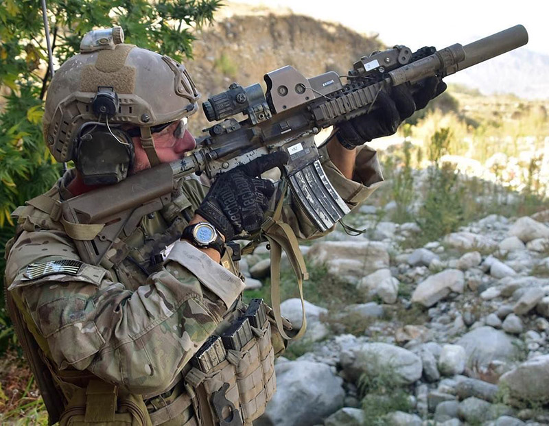 "Green Beret with a MK18 10.3"" Barrel"