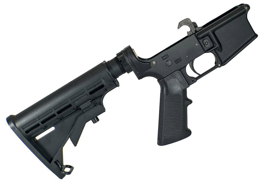 complete AR15 lower receiver